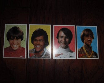 The Monkees Promo Cards 4x6""