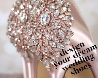 0c2af517eea6 CUSTOM CONSULTATION  Design Your Own Wedding Shoes