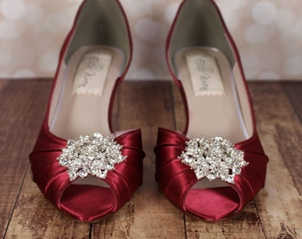 e7dca2790a821 Red wedding shoes   Etsy