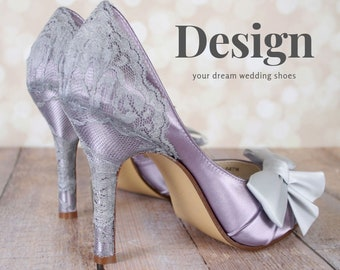 ca38c191532 Custom Wedding Shoes Design Your Dream by EllieWrenWeddingShoe