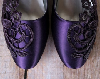 0b2d353fcda069 Purple wedding shoes