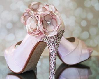 Pink bridal shoes  359737cda954
