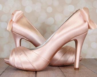 c8ed436c7fe2 Blush wedding shoes