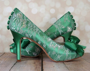 fd1d112db10 Emerald green heels