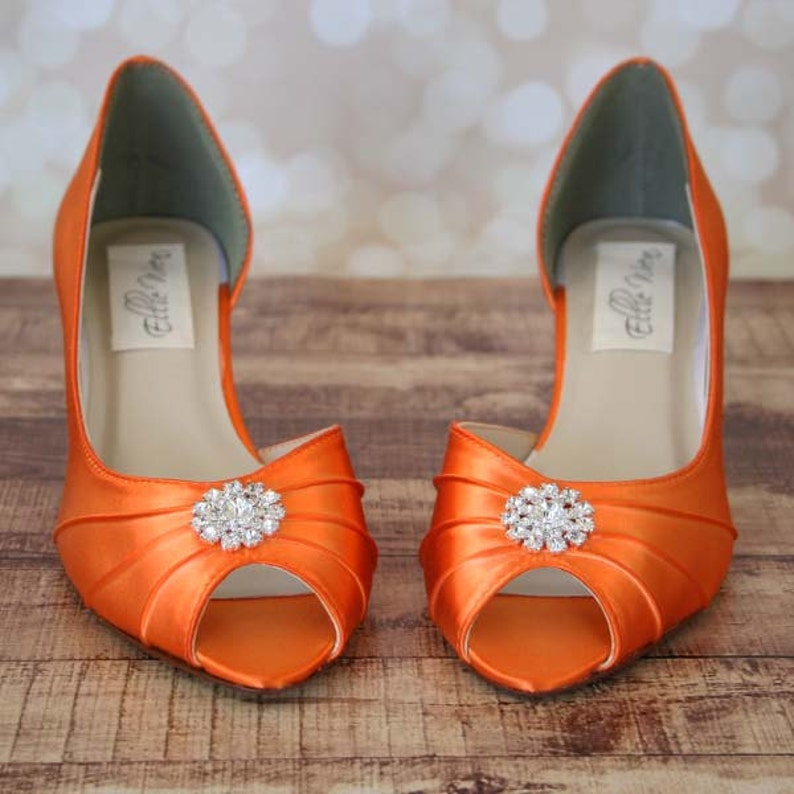 8cd4c86d83378 Orange Wedding Shoes - plus size wedding dresses