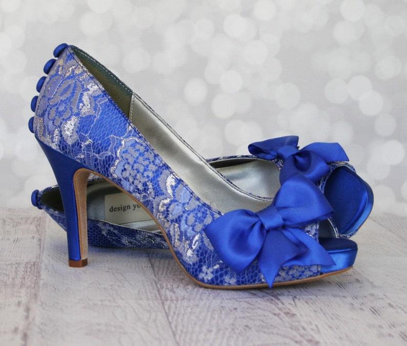 5335970d96e Wedding Shoes, Something Blue Shoes, Custom Wedding Shoes, Blue Shoes,  Bridal Heels Blue, Blue Wedding Shoes, Lace Wedding Shoes, Lace