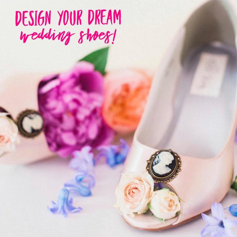 e30c46791c3a CUSTOM CONSULTATION  Design Your Own Wedding Shoes Blush