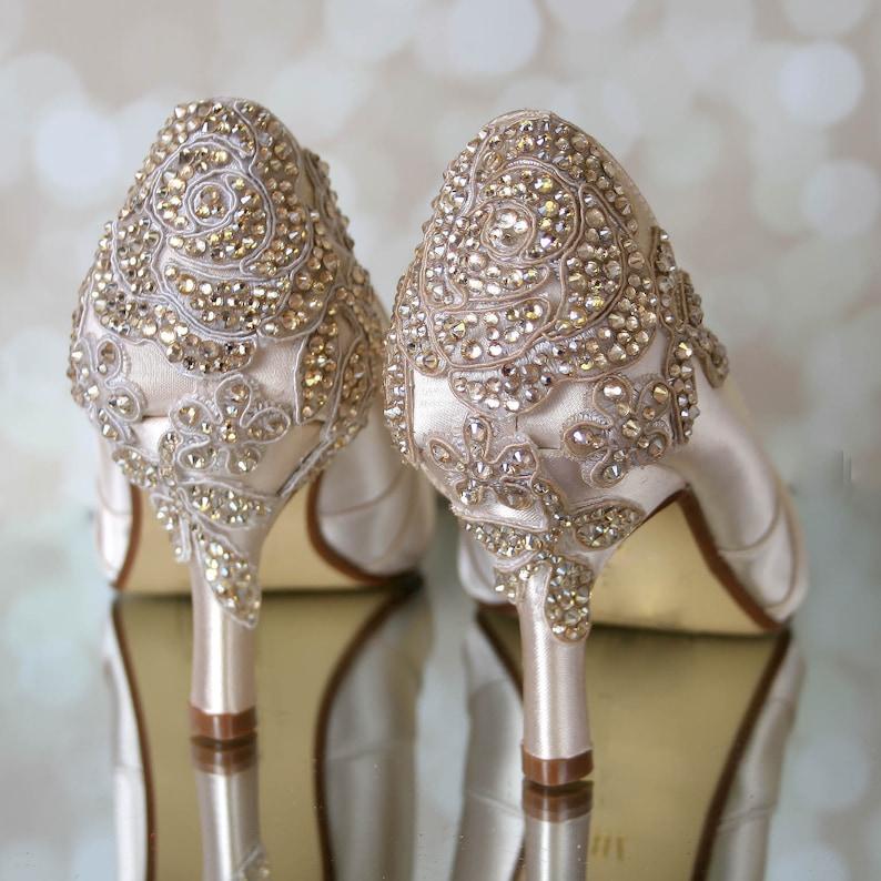 Wedding Shoes Champagne Wedding Shoes Vintage Wedding Shoes