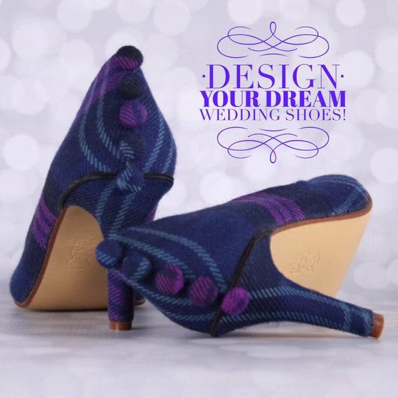 Bridal Heel Design Snowflake Shoes Custom Wedding Shoe Winter Wedding Design Your Own Wedding Shoes CUSTOM CONSULTATION:  Wedding Shoes