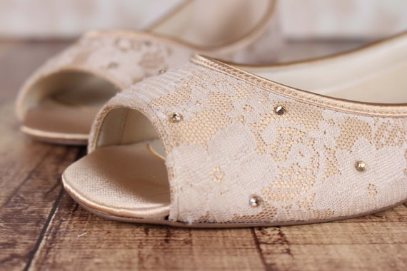 Probe Verkauf Verkauf Hochzeitsschuhe Hochzeitsschuhe Gold Etsy