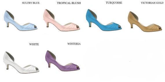 Wedding Shoes Eggplant, Purple Wedding Shoes for Bride, Lace Wedding Shoes, Closed Toe, Low Heel Bride Shoes, Bridal Heels, Bridesmaid Shoe