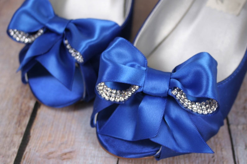 1f7e81d43ac Wedding Shoes Custom Wedding Shoes Something Blue Blue