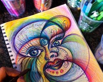 In the eye of the beholder - Original ART 8x11