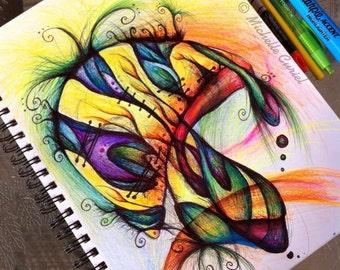 Eye candy - Original ART 8x11