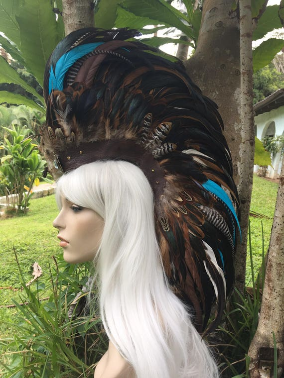 Naiades  - Customizable Feather Mohawk / Headdress