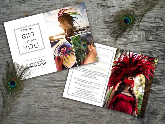 75.00 Gift Certificate for Michelle Curiel art from the heART store