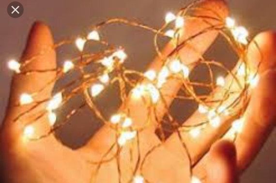 Fairy lights for Feather Mohawk (Add on)