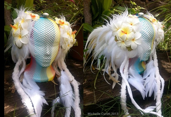 Made to Order : Aloha Fairy Princess; Festivals, Costume, Luau, Wedding, Cosplay, Festivals, Goddess, Summer,