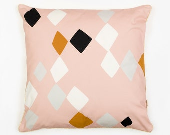 AZILAL CUSHION - Cushion Cover by Depeapa, Cushion Cover, organic cotton pillow case, decorative cushion, Geometric Cushion