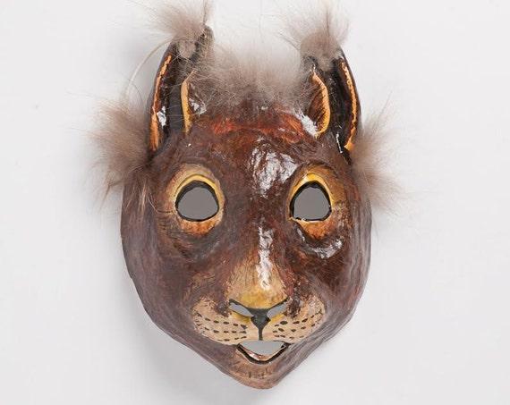 Top Design Wie findet man neuesten Stil Eichhörnchen-Maske. Pappmaché Maskerade Maske