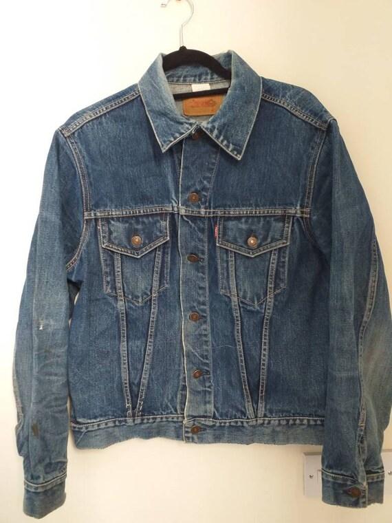 Big E Levi's denim jacket 1960s