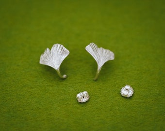 clip-on or pierce Japanese wabi sabi texture Apple Peel earrings statement earrings free shipping allergy free dangle earrings