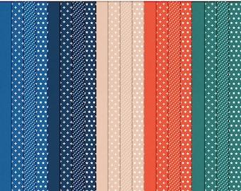 I Heart Color – August Digital Paper Pack