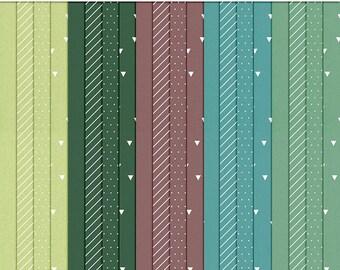 I Heart Color – September Digital Paper Pack