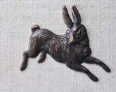 Wild Hare Brass Stamping, Machinist Patina