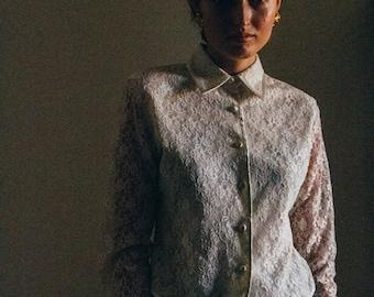 80's lace jacket