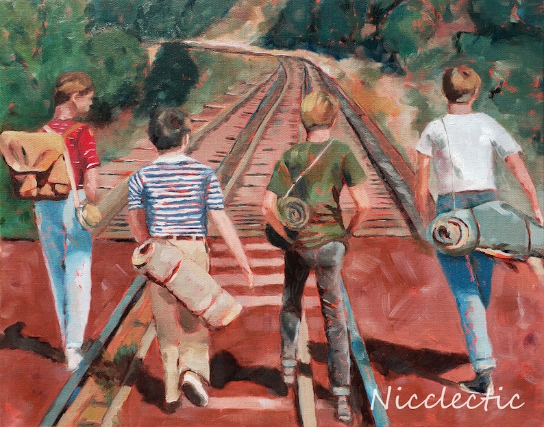 Stand By Me best friends friendship boys 80s movies River image 0