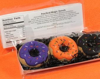 Practical Magic Donuts Set Organic Catnip Cat Toy