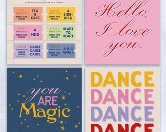 Charity Greeting Card pack of 4