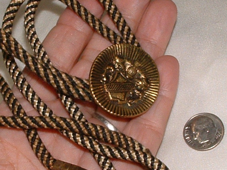 sale-----MENS very old vintage bolo  very cool  all still sooooo nice   string is still fab  you wont believe it