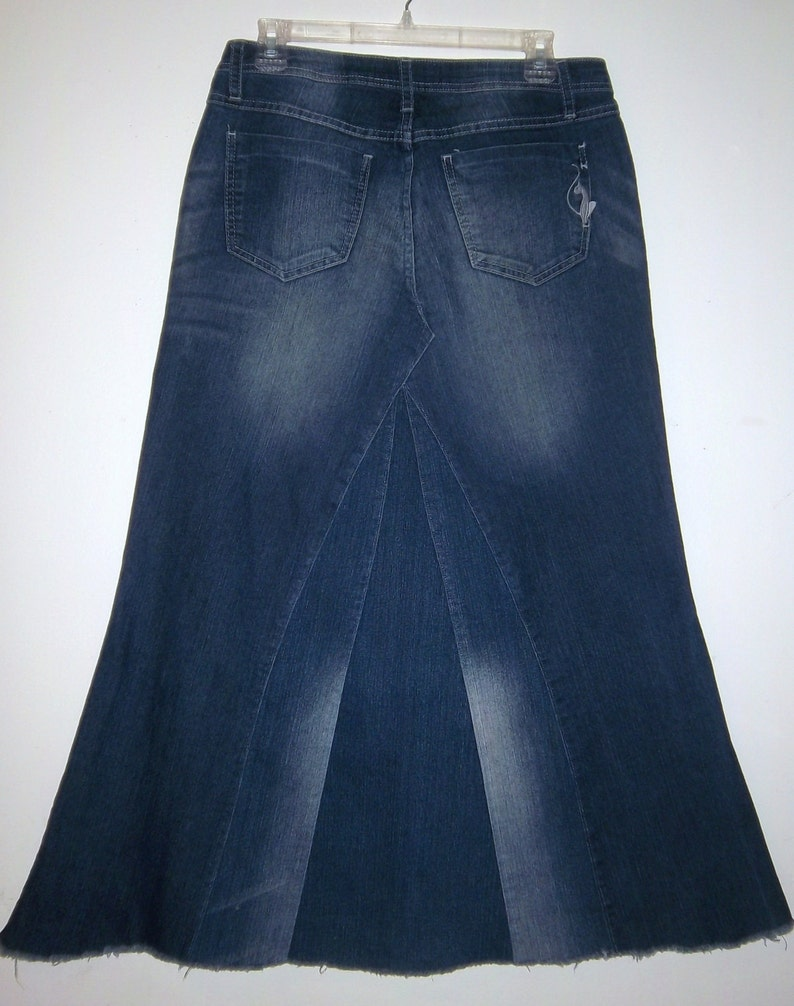 49e956539 Jean Skirts Long Plus Size | Saddha