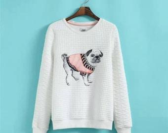 Cute Pug Sweater