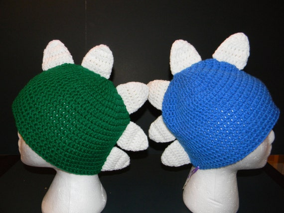 Crochet Dinosaur Spike Hat Crochet Mohawk Hat Crochet Bowser Etsy