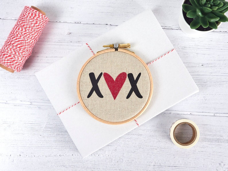 XOXO I Love You Gift 4th or 5th Anniversary Gift Love image 0