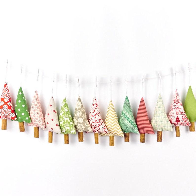 Customised Set of Cinnamon Scented Christmas Tree Decorations image 0
