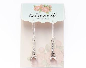 Eiffel Tower Earring, French Earrings, Paris Jewelry, Paris Love, Paris Earrings, Travel Earrings, Travel Gift, French Jewelry, French Gift