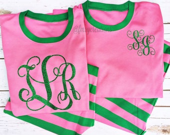 23e0ca0a6d Pink and Green Pajamas