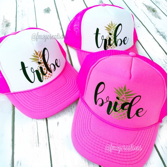 af32bdc1f63 BRIDE TRIBE HAT Brides Tribe Hats Bachelorette Hats
