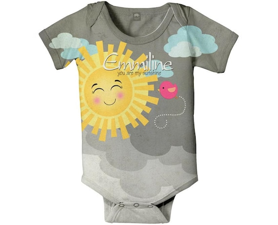 personalized custom baby boy Sunshine Birthday shirt Happy Lion Clothing You are my Sunshine first 1st Birthday outfit Boys Our Little Sunshine