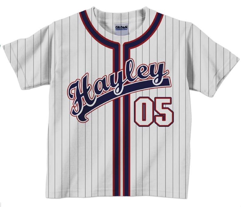 c908b7f2d8f Personalized Baseball Jersey Shirt Personalized Team T-Shirt