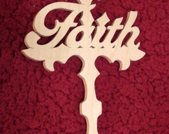 Faith Cross - Cross of Faith - Cross
