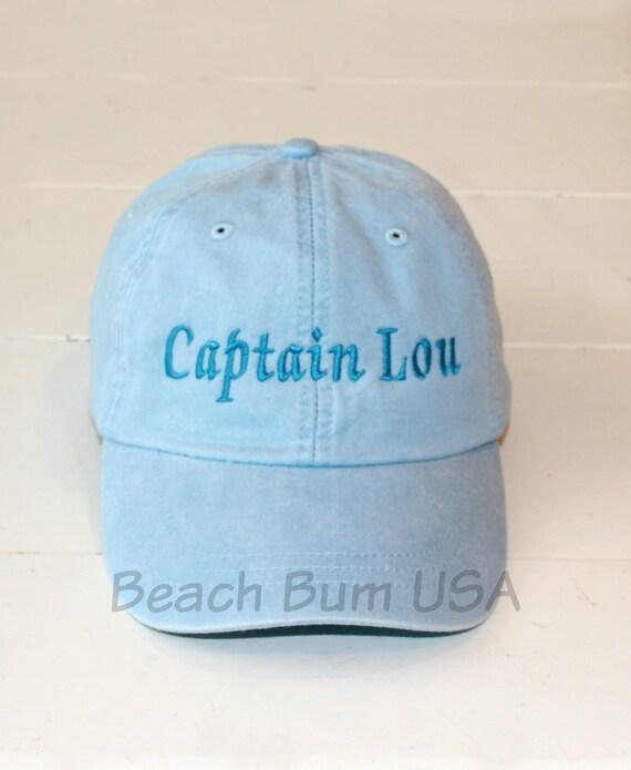 Stocking Stuffer For Men Captain Hat Adams Baseball Cap Custom  324a5a0d7ed8