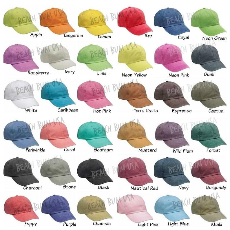 Adams Baseball Cap Beach Please Caribbean Blue Hat Custom  31afa96851f7