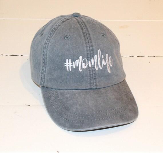 Adams Baseball Hat momlife Cap Unisex Hat Pigment Dyed  aaebba052892
