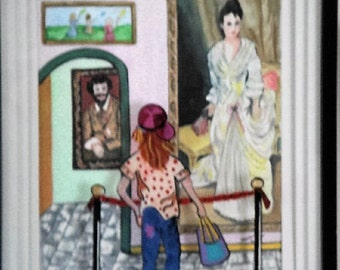 Youth Ponders Art and Fashion of Days Gone By