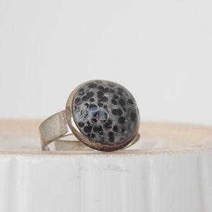 RAw Quartz Brooch Crescent Moon Polymer Clay Brooch Quartz Crystal Brooch Pin Polymer Clay Shawl Pin Protection Crystal Brooch